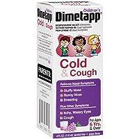 Children's Dimetapp Cold & Cough (4 fl. oz., Pack of 3, Grape Flavor) Decongestant, Antihistamine & Cough Suppressant, Ages 6+