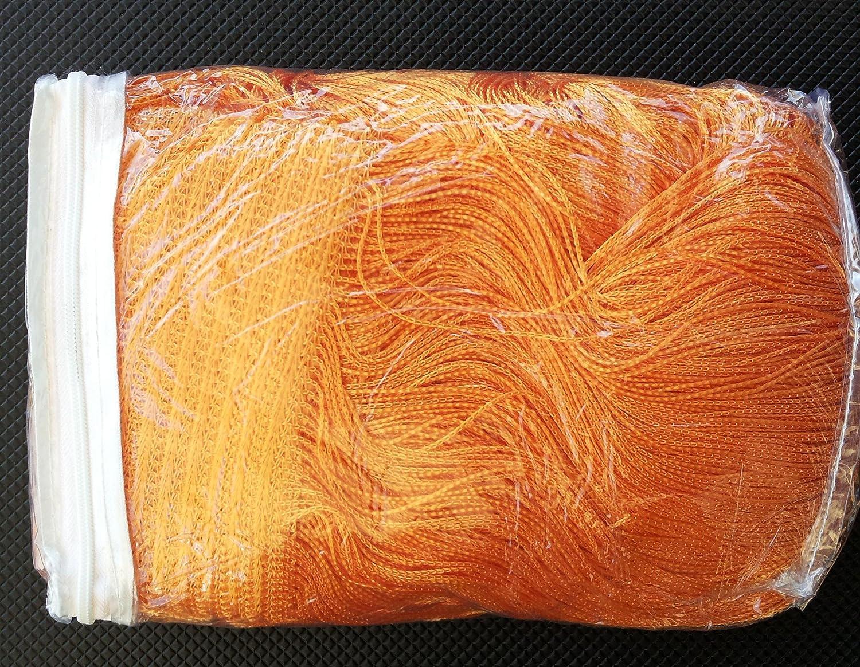 tenda a fili arancione 100x200 interno esterno porte finestre millefili d'arredo