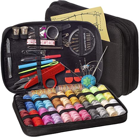 Easy to Use Small Sewing Kit Premium Sewing Supplies for Traveler on The Go Repairs Sewing Kit Adults Beginner
