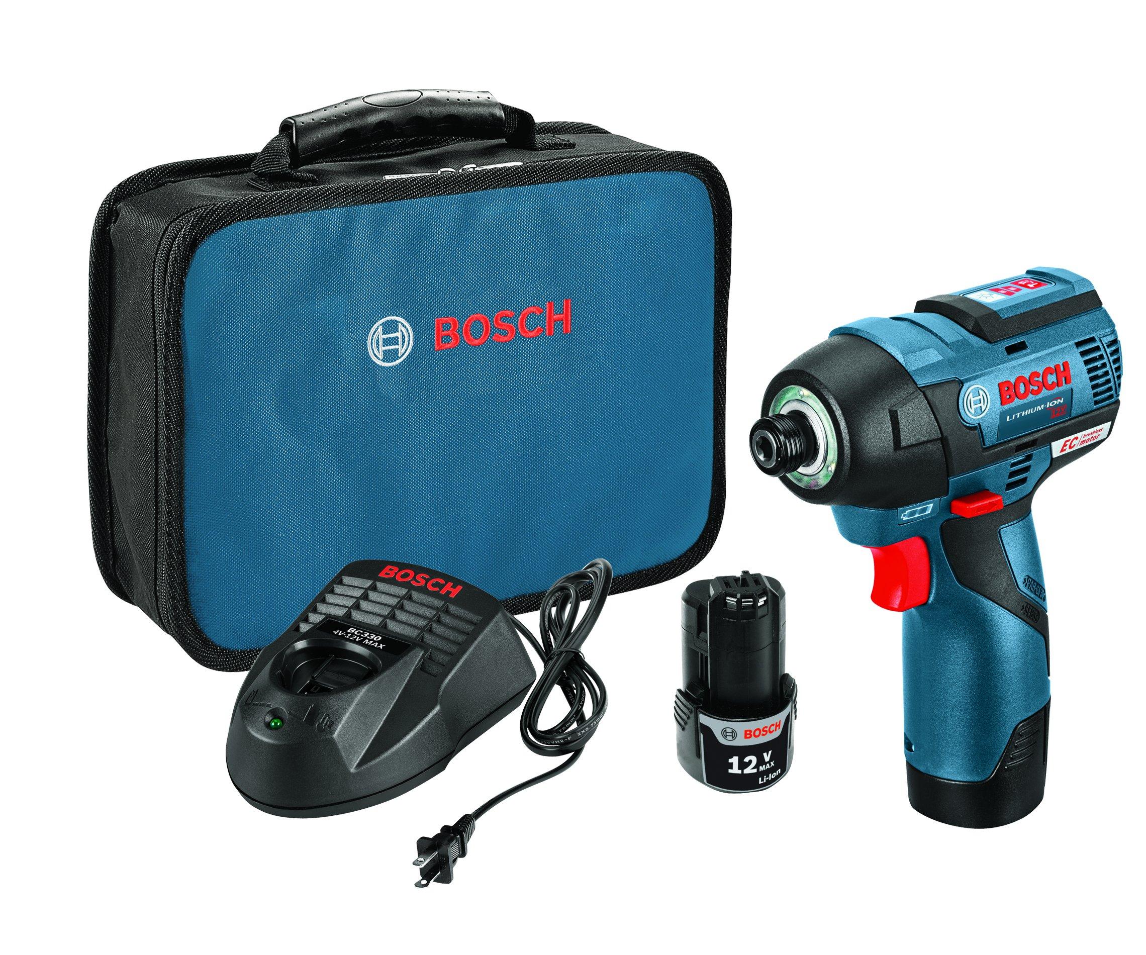 Bosch PS42-02 12V Max EC Brushless Impact Driver Kit