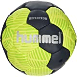 Hummel Handball for Matches & Training, Reflector Pitch Training Ball, Leisure and Sport, Yellow and Blue with Air Valve, Unisex, REFLECTOR HB