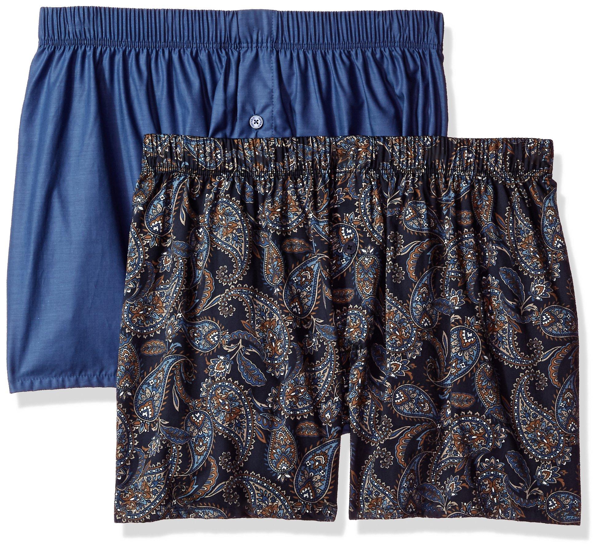HANRO Mens Fancy Woven Boxer 2-Pack
