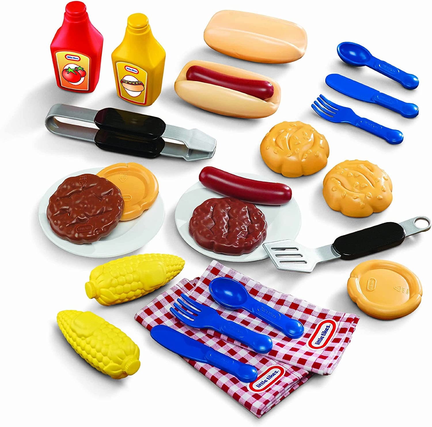 Amazon Com Little Tikes Backyard Barbeque Grillin Goodies Toys Games