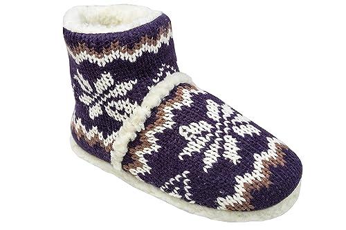 Gibra® - Zapatillas cálidas de andar por casa para Hombre .: Amazon.es: Zapatos y complementos