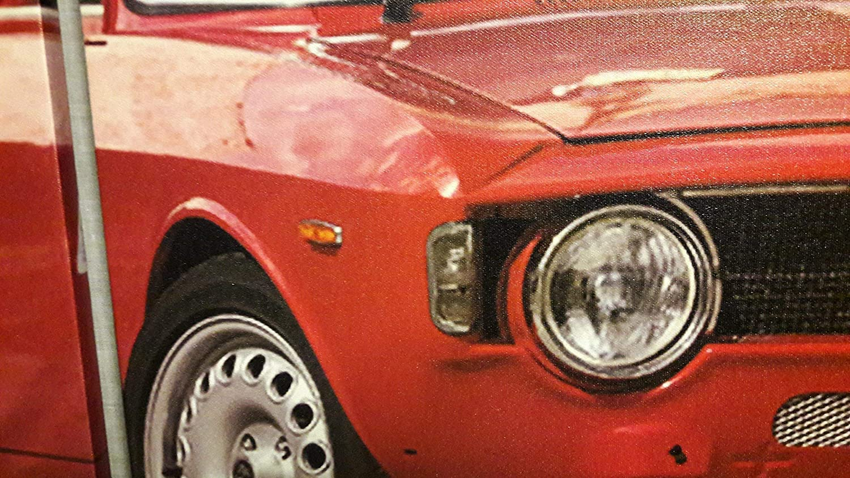 Triptico porsche Alfa Romeo GT 1300 Junior 100x50 cm: Amazon.es: Handmade