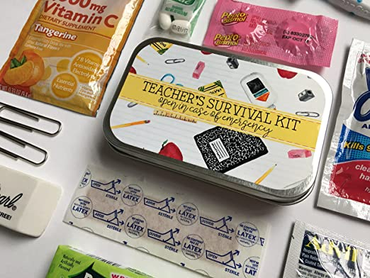 Amazon Com Complete Teacher S Survival Kit Teacher Gift Teacher