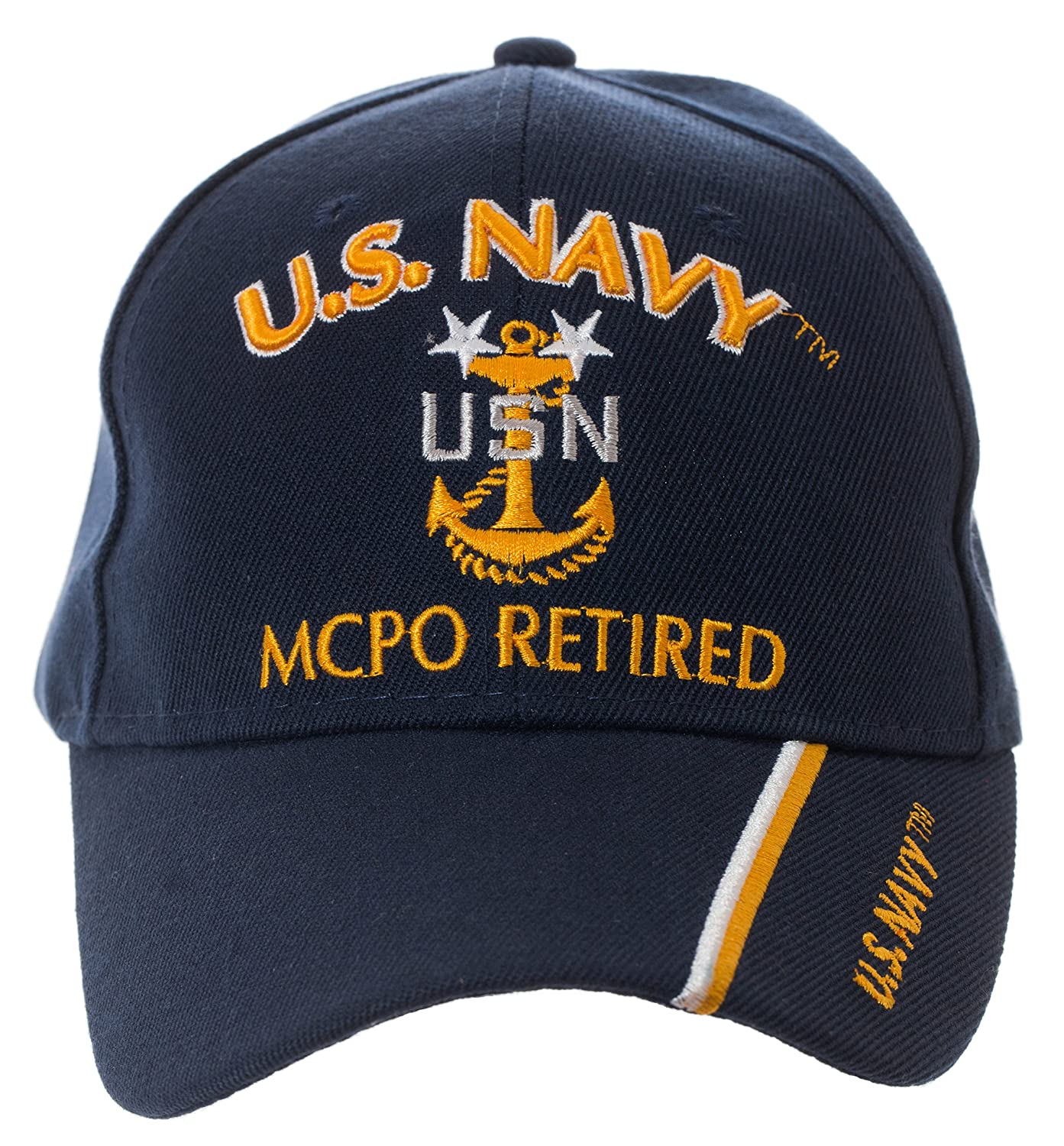 Artisan Owl Officially Licensed US Navy Retired Baseball Cap - Multiple  Ranks! (Chief Petty Officer) at Amazon Men s Clothing store  36ee9160805a