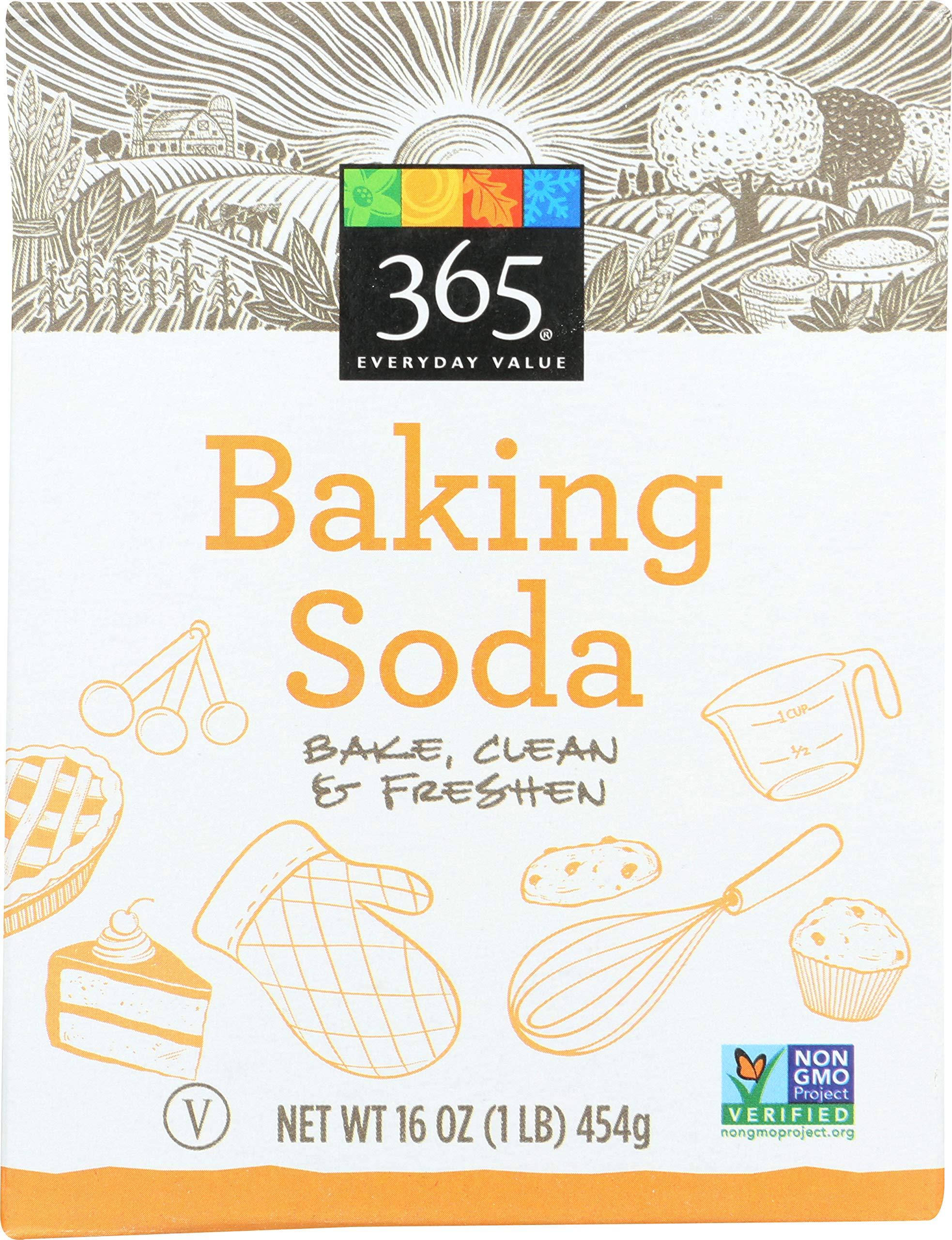 365 Everyday Value, Baking Soda, 16 Ounce