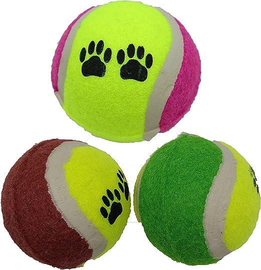 Pelotas de tenis para perro – Pelota de perro fuerte premium ...