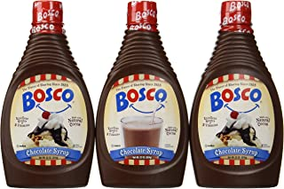 product image for Bosco Chocolate Syrup, 22-oz. squeeze bottle (Pack of 3)