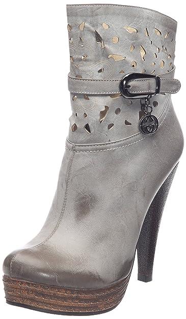 7408254a9111 B-Two Camo, Boots Femme: Amazon.fr: Chaussures et Sacs