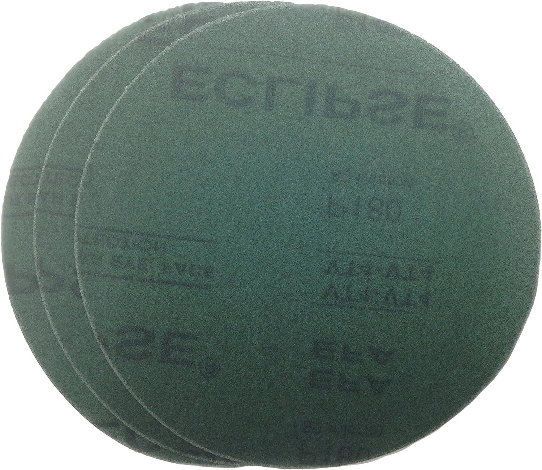 "B01B17J0Z6 Sungold Abrasives 30909 150 Grit No Hole Hook & Loop Sanding Discs Eclipse Film, 8"" 914Q1HUu2fL.SL1500_"