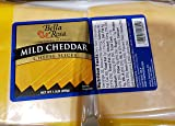 Bella Rosa Mild Cheddar Cheese Slices 1.5lbs
