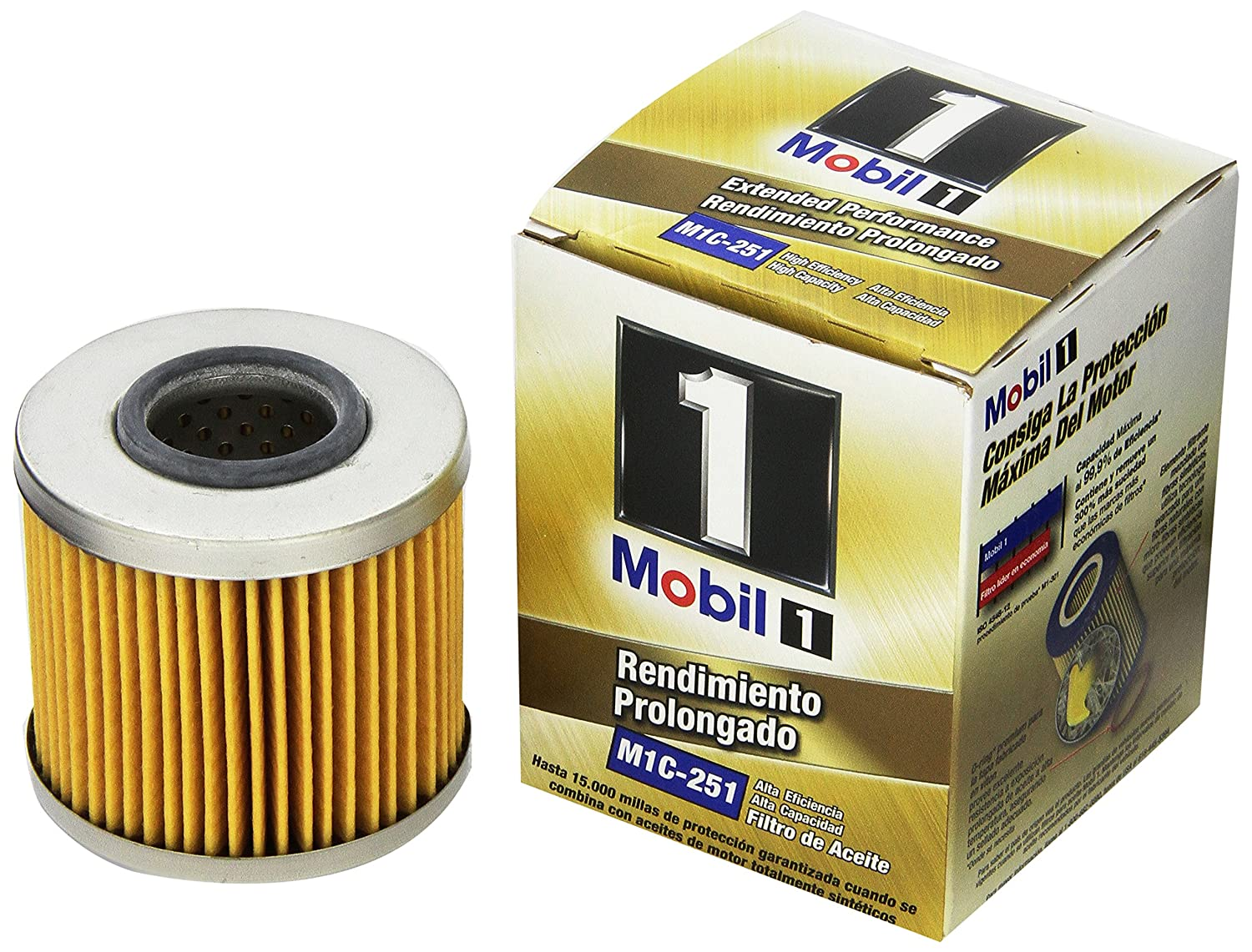 Mobil 1 M1c 251 Extended Performance Oil Filter Pack Of 2000 Toyota Camry Fuel Location 2 Automotive