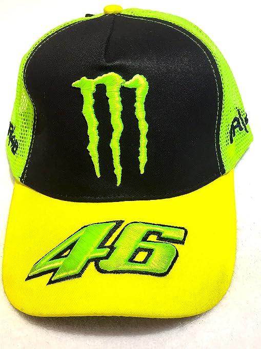 Gorra Monster Energy Valentino Rossi VR46 moto GP Official Cap ...