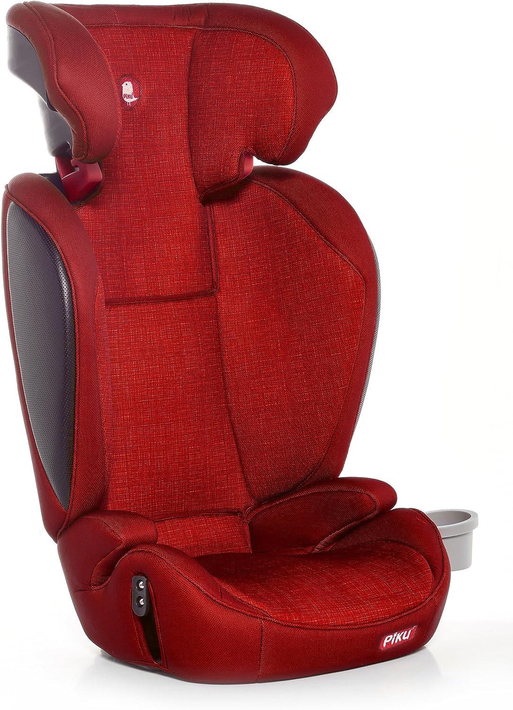 Piku Kliku Fix Silla de Coche Grupo 2//3 color Rojo
