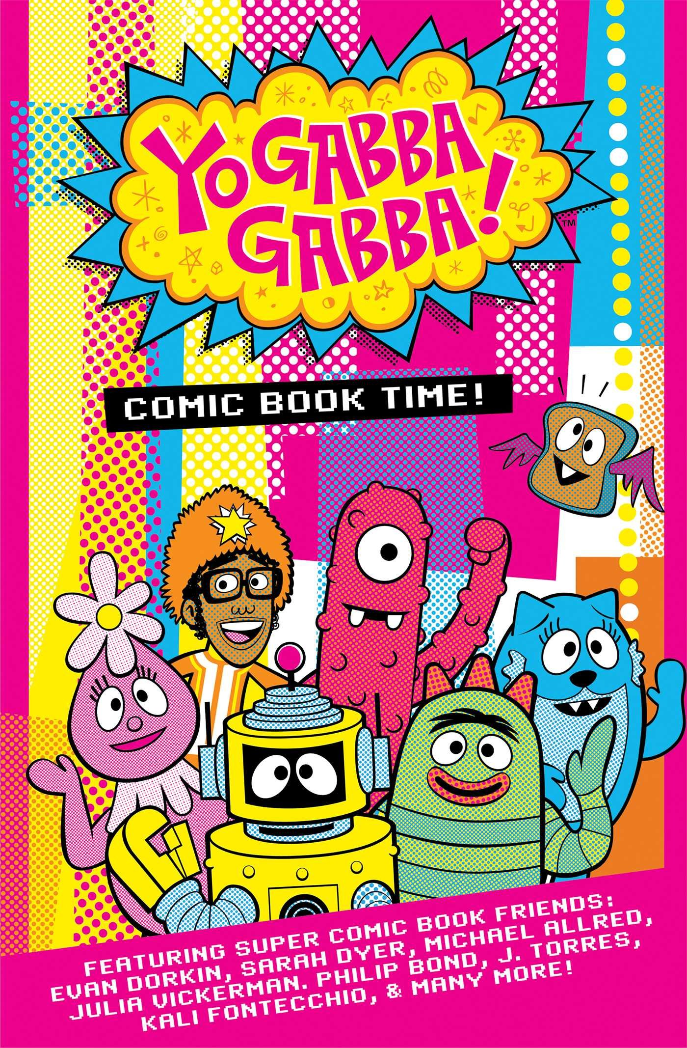 Yo Gabba Gabba!: Comic Book Time!