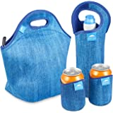 Insulated Extra Large Lunch Bags For Women, Men & Kids | 4 mm neoprene | 13.5"