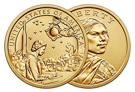 2012 P/&D Native American Sacagawea Dollar 1 BU Coin Of Each. Free Shipping