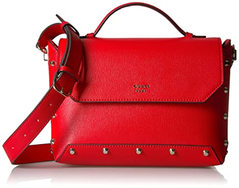 8a6cf1d6cf GUESS Kaia Top Handle Flap  Handbags  Amazon.com