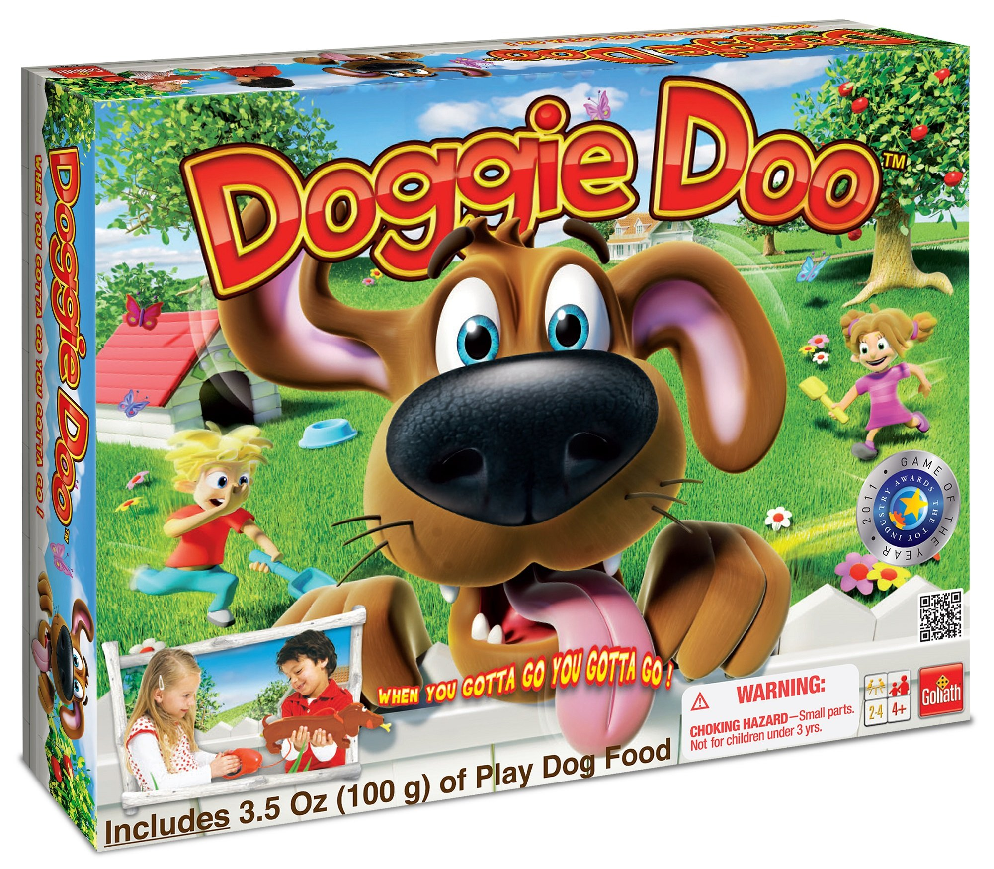 Doggie Doo -- The Famous Dog Poop Game by Goliath Games (Image #1)