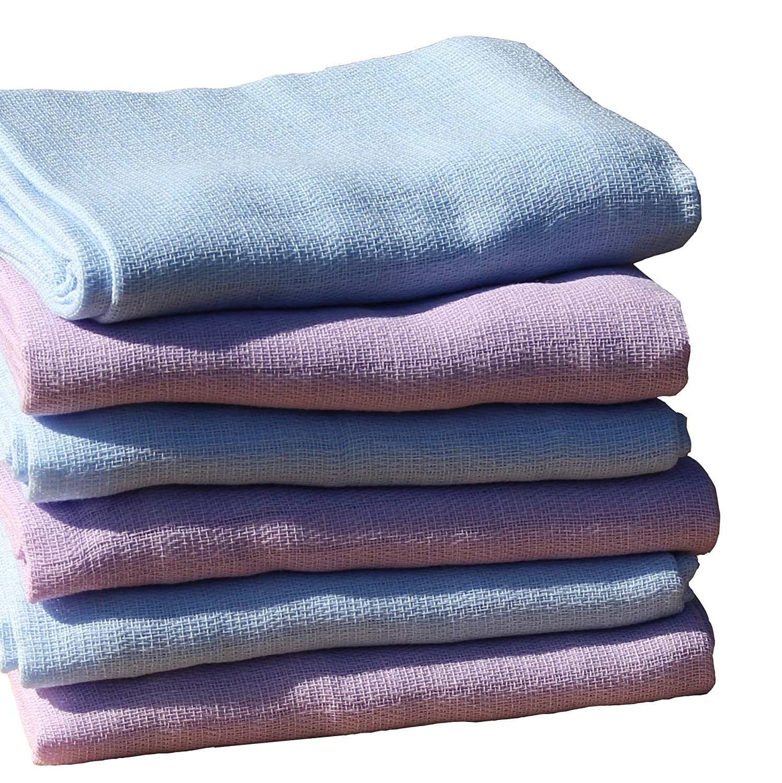 ClevereKids  Mulltücher 3 Stück einfarbig viele Farben Stoffwindeln Spucktücher
