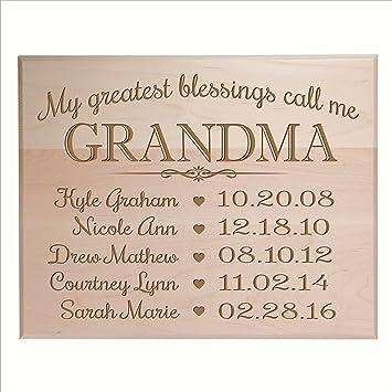 Gran Abuela Regalos Cumpleanos Ideas Con Nombres De Ninos