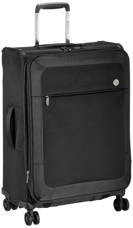 [ロンカート] スーツケース等 MIAMI 保証付 58L 64 cm 2.6kg BLACK B07PPDTSYT