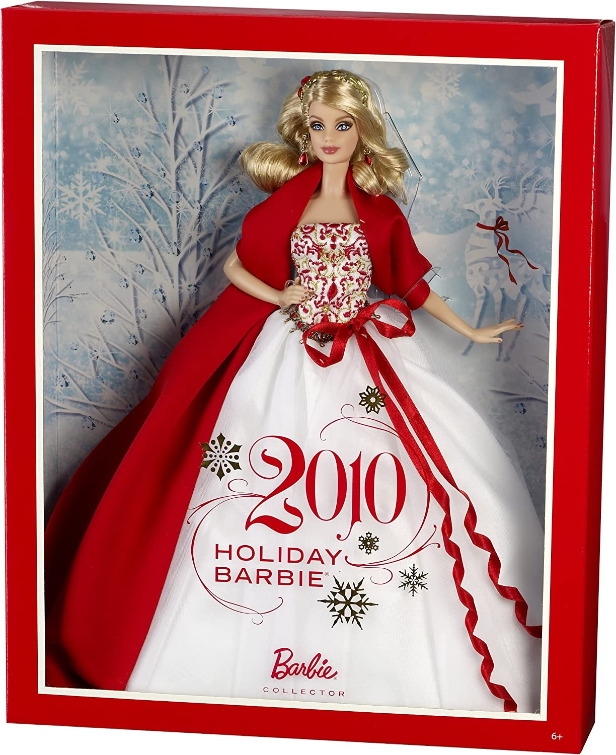Barbie Noel 2010 Amazon.com: Barbie Collector 2010 Holiday Doll: Toys & Games