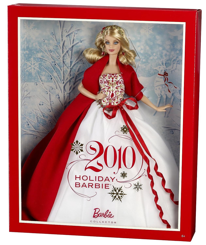barbie noel 2010 Mattel R4545   Barbie   Poupée   Soir de Noel 2010: Amazon.fr  barbie noel 2010