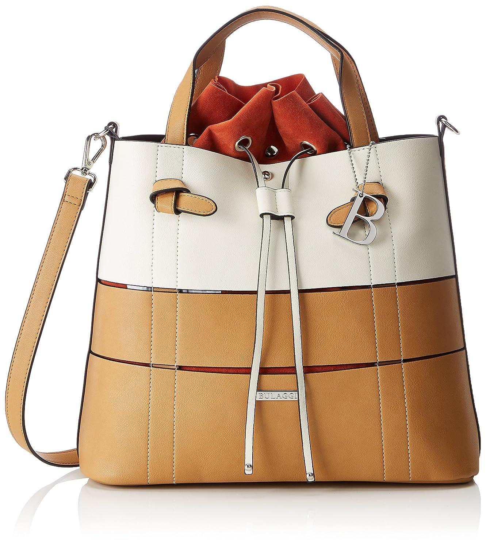 Braun b El Bulaggi De H camel Bolsos beige Amazon Cm Mujer T Anasi X Handbag shoes Mano 12x28x32 Maletín qzBzZAXrw