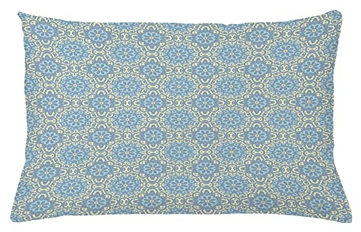 Árabe manta almohada Funda de cojín por Ambesonne, azulejos ...