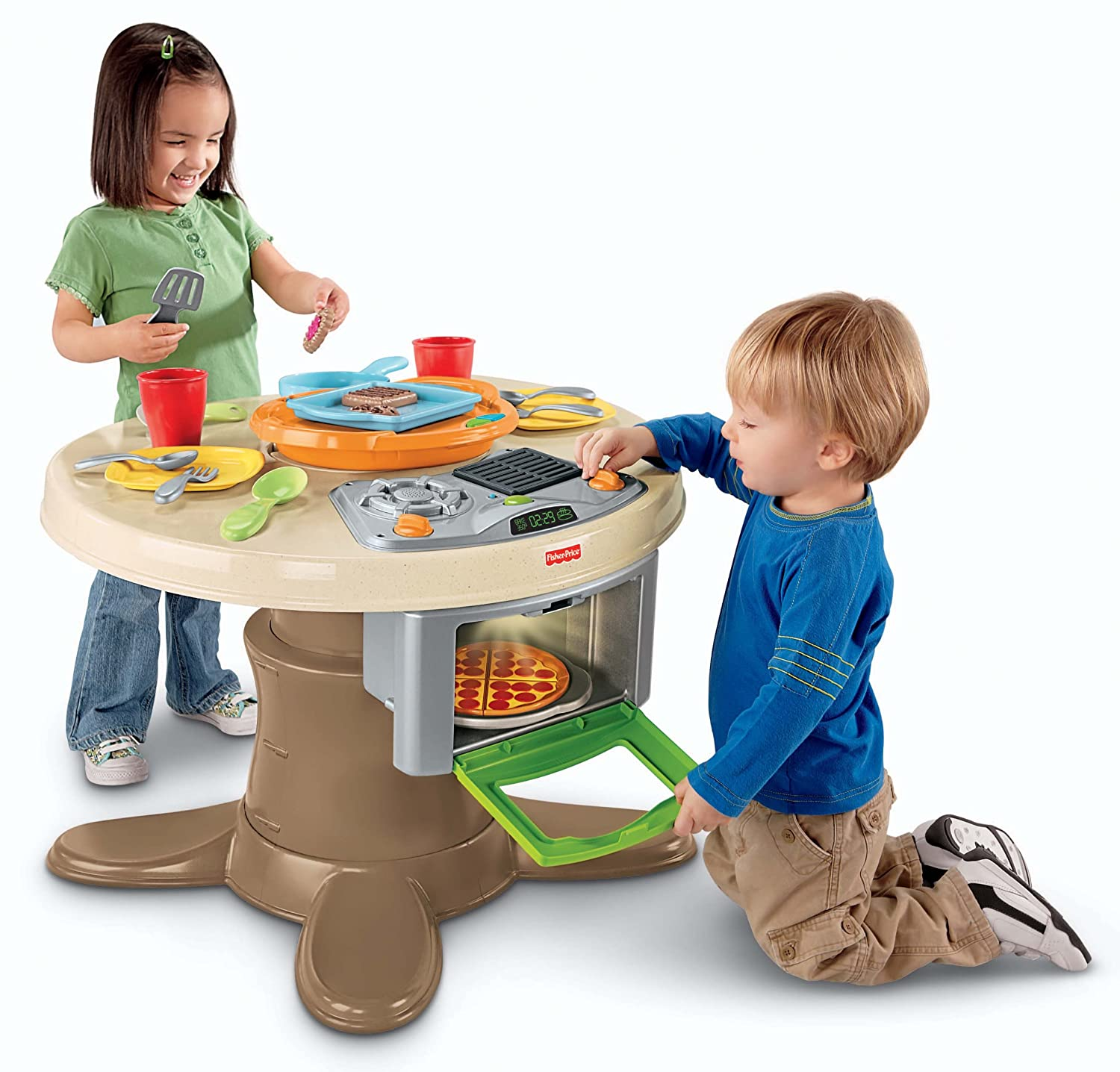 amazoncom fisherprice servinu0027 surprises kitchen u0026 table toys u0026 games