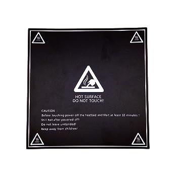 3D Heizbett Folie Druckplattform AptoFun 3D Druckbett Folie 213 * 213 mm Mk3 Druckbett f/ür 3D Drucker Heizbett