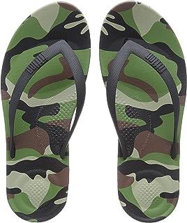 a4005573e Fitflop Men s iQushion Ergonomic Flip-flops Open Toe Sandals  Amazon ...