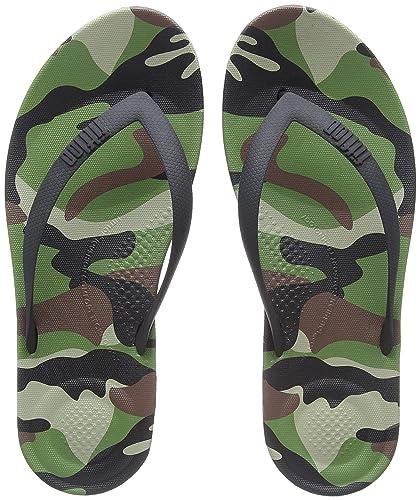 efc418a69f2f Fit Flop Men s Iqushion Ergonomic Flip Flops Camo  Buy Online at Low ...