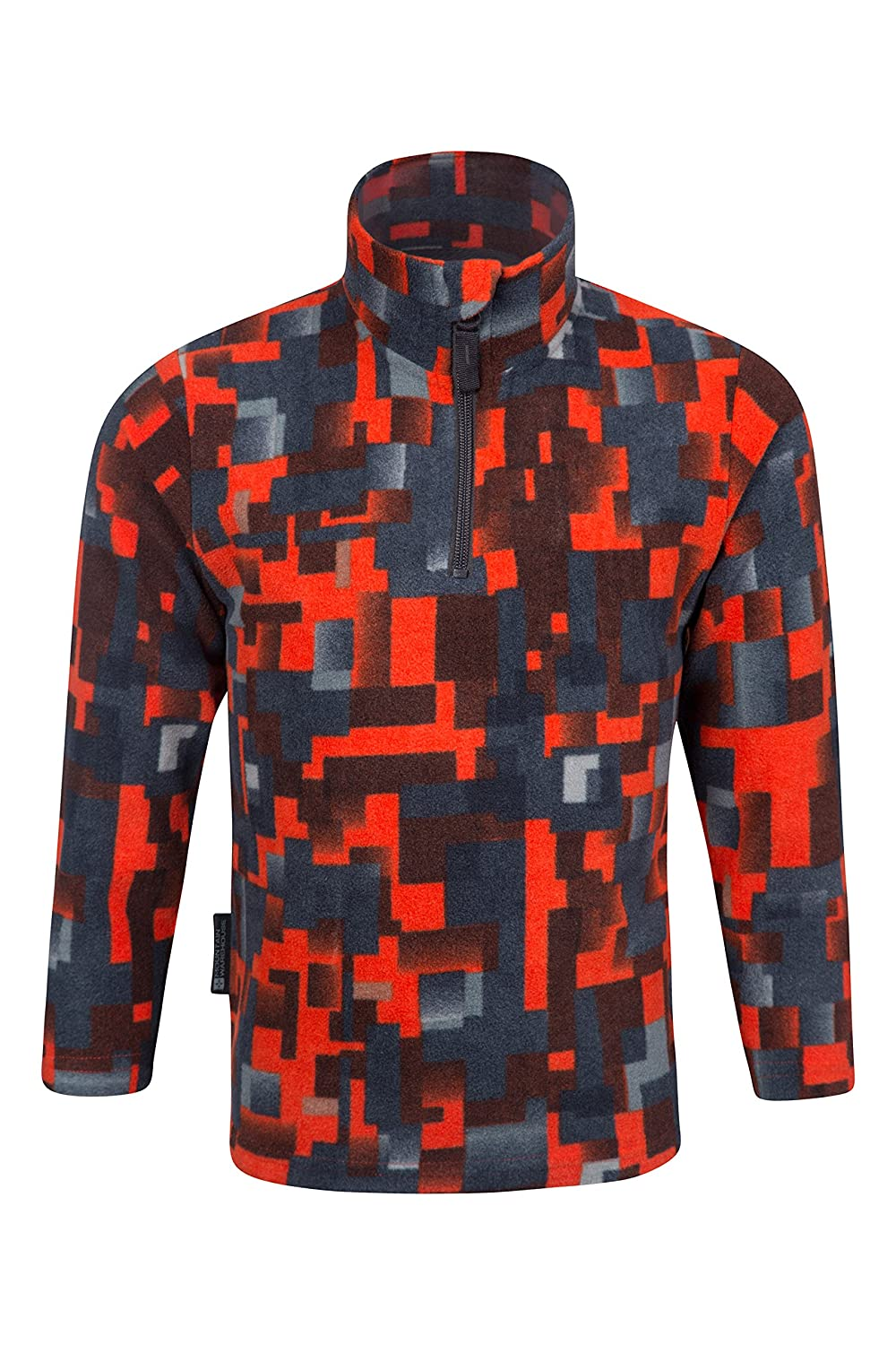 Mountain Warehouse Pursuit Kinder-Fleecejacke mit Camouflage Aufdruck