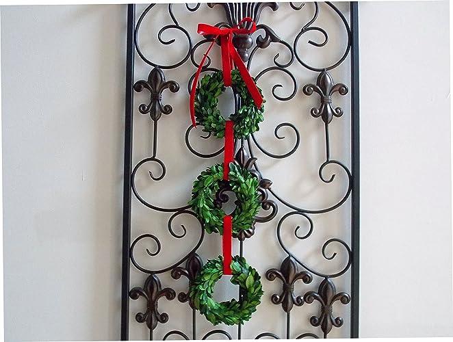 christmas wreath christmas wreaths mini wreath small wreath boxwood wreath preserved