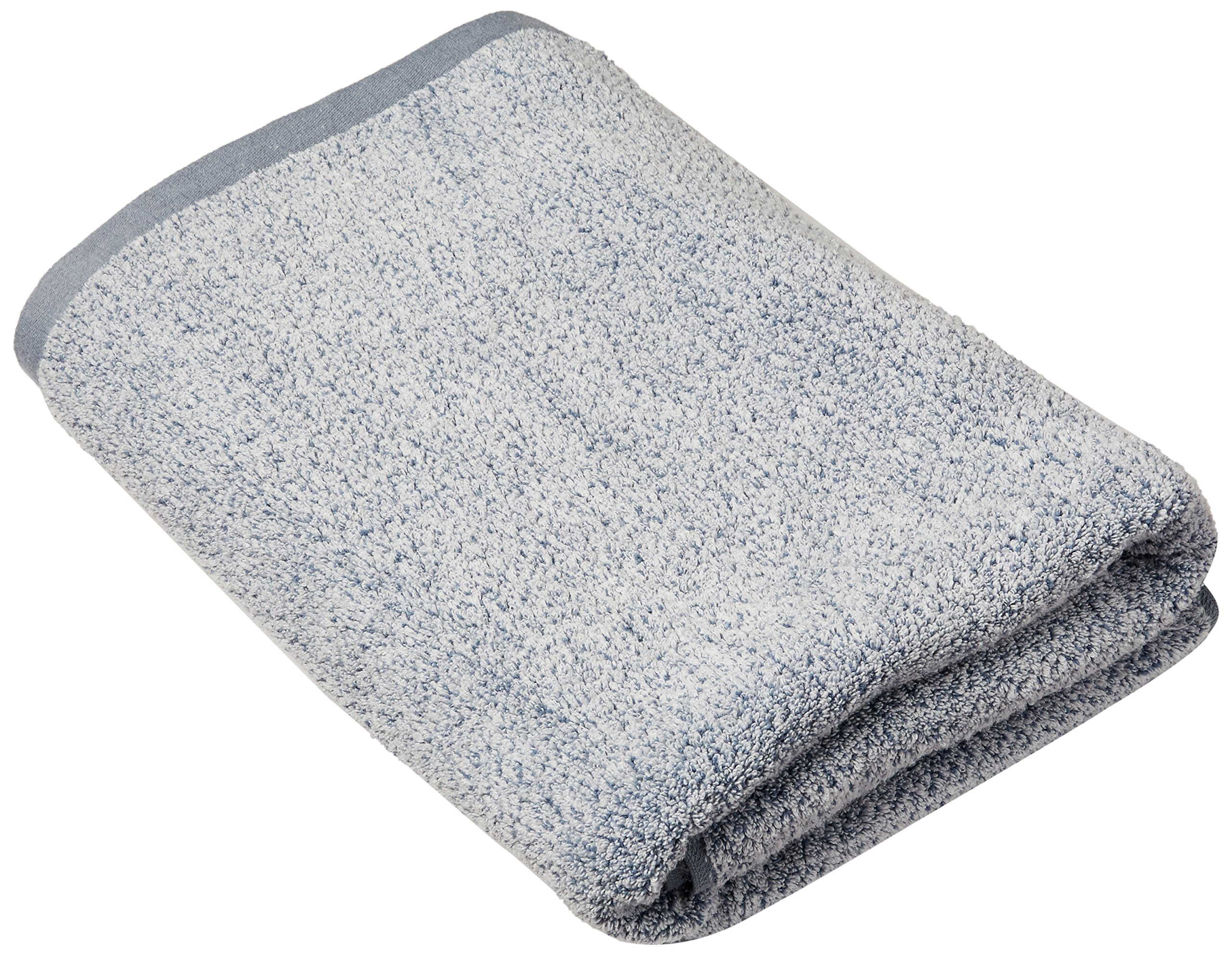 Everplush Diamond Jacquard Bath Sheet in Dusk