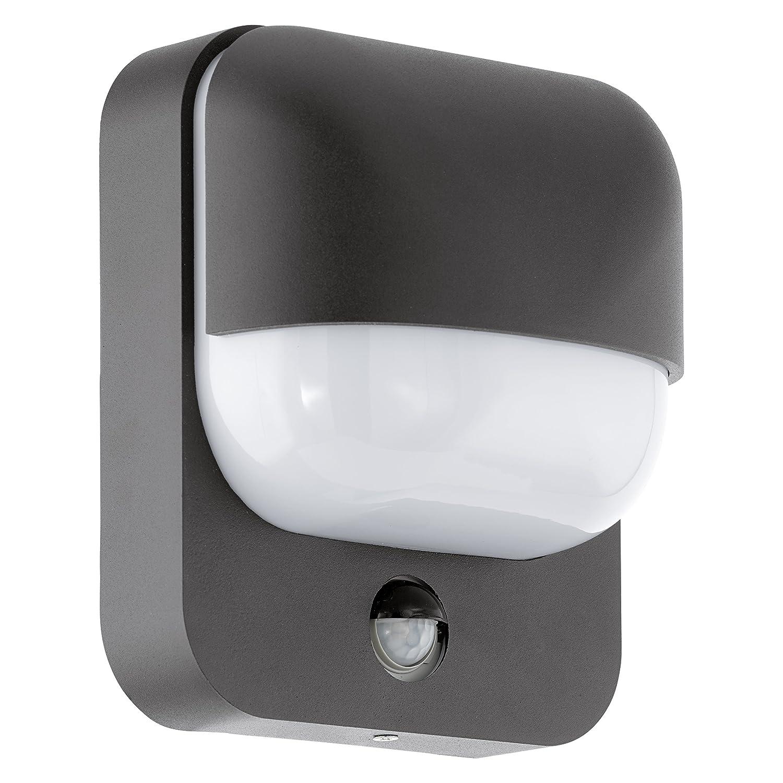 Eglo Außenlampe Außenleuchte Trabada Sensor IP44 Schwarz 94853