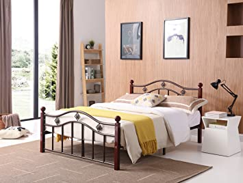 220d9f6db0921 Metal Headboard And Footboard 33 in 2019 girls room t