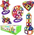 Magnetic Building Blocks Gift Desire Deluxe Kids Magnetics Construction Block Games for Boys and Girls Creativity Educational Children's Toys for Age 2 3 4 5 6 7 Year Old