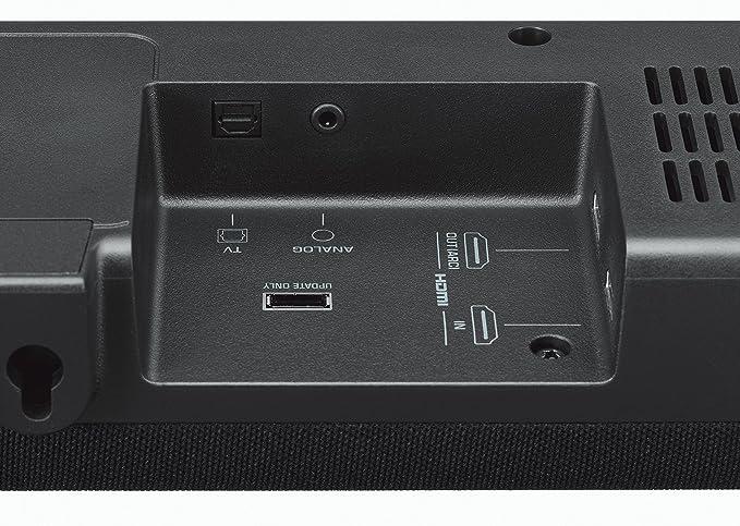 Yamaha YAS207 B Surround Advanced Soundbar Home Speaker, Set of 2, Black