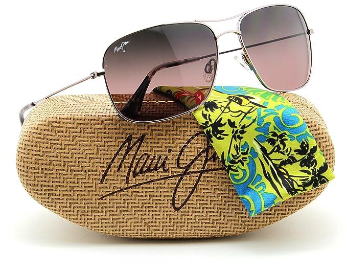 564025eb3d9 Image Unavailable. Image not available for. Colour  Maui Jim RS773-16R  BREEZEWAY Polarized Titanium Sunglasses ...