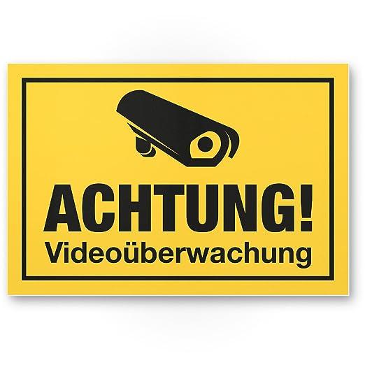 Advertencia Videovigilancia - Rótulo - Disuasión Robo, Nota ...