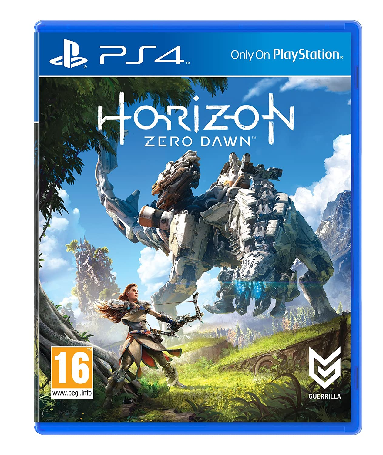 Horizon Zero Dawn Standard Edition Amazon Co Uk Pc Video Games