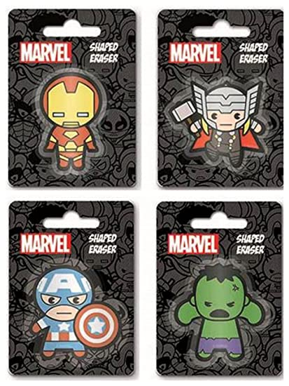 Marvel Avengers – Goma de goma para borrar bolsas de fiesta para ...
