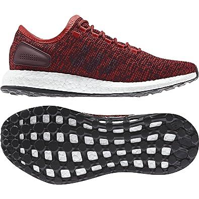 ab1659b8feccc adidas - Pureboost - Chaussures de Running Entrainement - Homme - Rouge  (Rojtac Borosc