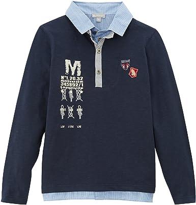 Miniman - Polo para niño, talla 12 años (12 años), color azul ...