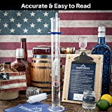 Hydrometer Alcohol Meter Test Kit: Distilled